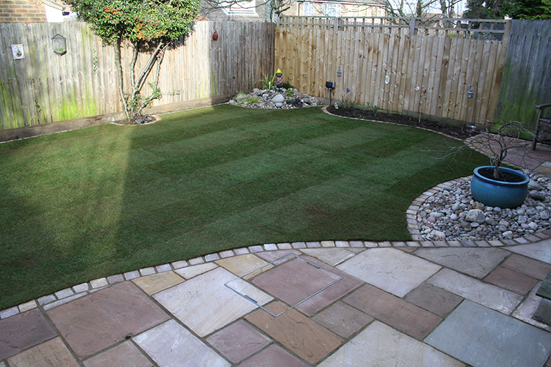 Lawn And Patio