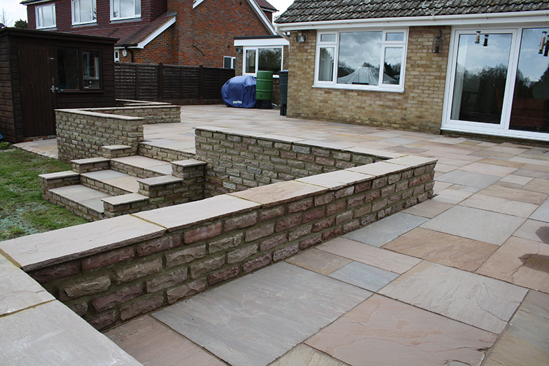 Sandstone Paving And Walling